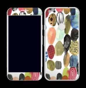 Prikker i vandfarver Skin Pixel