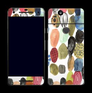 Prikker i vandfarver Skin Pixel 2