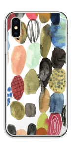 Prikker i vandfarver Skin IPhone XS