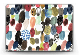 "Prikker i vandfarver Skin MacBook Pro 13"" -2015"