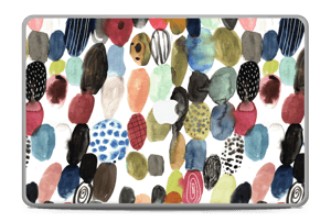 "Prikker i vannfarge Skin MacBook Pro 17"" -2015"