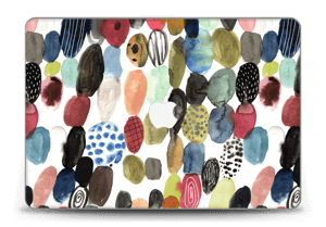"Dots watercolor  Skin MacBook Pro Retina 15"" 2015"