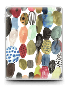 Dots watercolor  Skin IPad 1