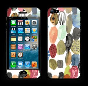 Dots watercolor Skin IPhone 5