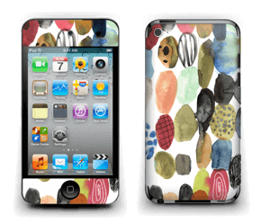 Prikker i vannfarge Skin IPod Touch 4th Gen