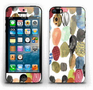 Dots watercolor Skin IPhone 5s