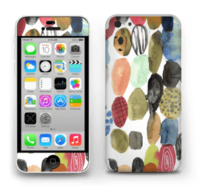 Prikker i vannfarge Skin IPhone 5c