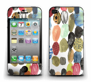 Dots watercolor Skin IPhone 4/4s