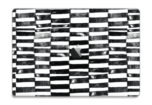 "Lignes Black & White Skin MacBook Pro 15"" 2016-"