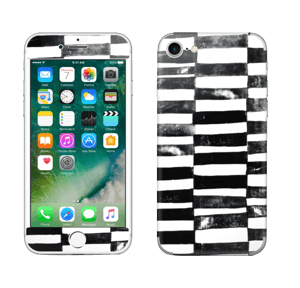 Lignes Black & White Skin IPhone 7