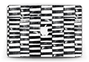 """Svarte streker Skin MacBook Pro Retina 13"""" 2015"""