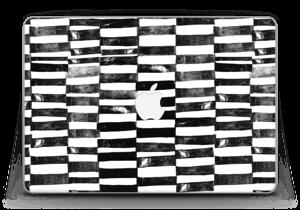 "Lignes Black & White Skin MacBook Pro Retina 13"" 2015"