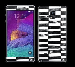 Svarte streker Skin Galaxy Note 4