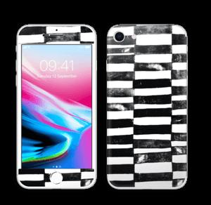 Svarte streker Skin IPhone 8