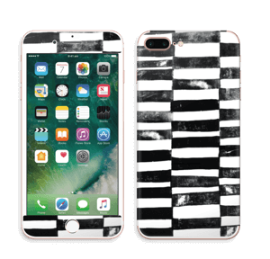 Svarte streker Skin IPhone 7 Plus
