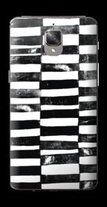 Svarte streker Skin OnePlus 3T