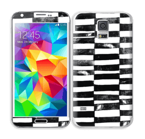Svarte streker Skin Galaxy S5