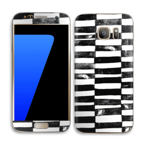 Svarte streker Skin Galaxy S7