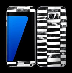 Svarte streker Skin Galaxy S7 Edge