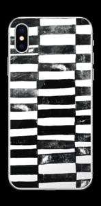 Lignes Black & White Skin IPhone X
