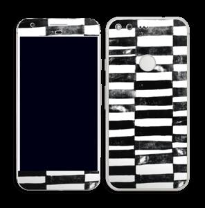 Svarte streker Skin Pixel