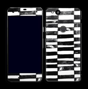 Svarte streker Skin Pixel 2