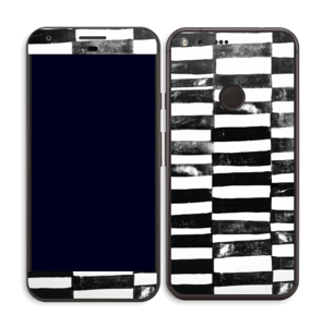 Lignes Black & White Skin Pixel XL