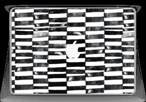 "Svarte streker Skin MacBook Pro 13"" -2015"
