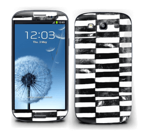Streger i sort Skin Galaxy S3