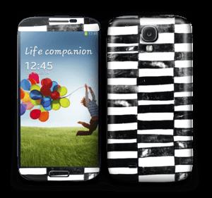Svarte streker Skin Galaxy S4