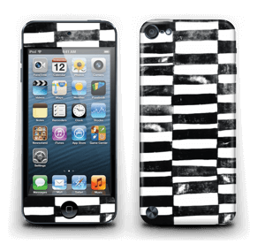 Svarte streker Skin IPod Touch 5th Gen