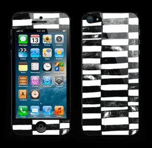 Svarte streker Skin IPhone 5