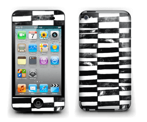 Svarte streker Skin IPod Touch 4th Gen