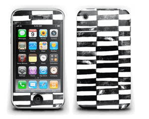 Svarte streker Skin IPhone 3G/3GS