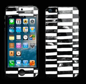 Lignes Black & White Skin IPhone 5s