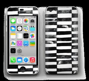 Svarte streker Skin IPhone 5c