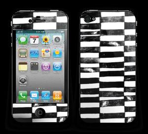 Svarte streker Skin IPhone 4/4s