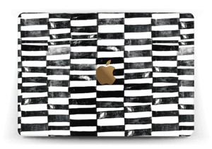 Svarte streker Skin MacBook 12""