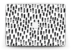 "Black & White Skin MacBook Pro Retina 13"" 2015"