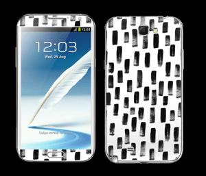 Penselstrøk Skin Galaxy Note 2