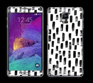 Penselstrøk Skin Galaxy Note 4