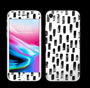 Penselstrøk Skin IPhone 8
