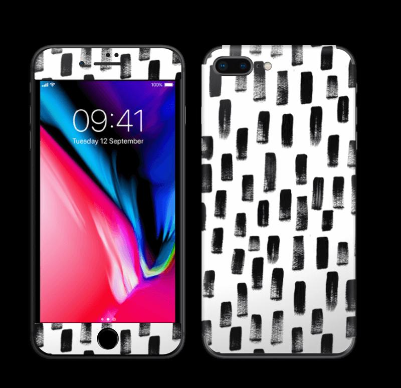 Penselstrøk Skin IPhone 8 Plus