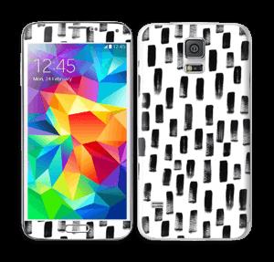 Penselstrøk Skin Galaxy S5