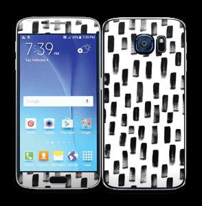 Penselstrøk Skin Galaxy S6
