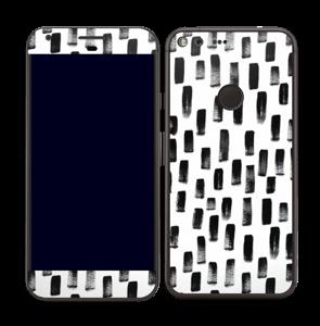 Peinture Noire Skin Pixel XL