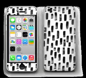 Penselstrøk Skin IPhone 5c