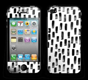 Penselstrøk Skin IPhone 4/4s