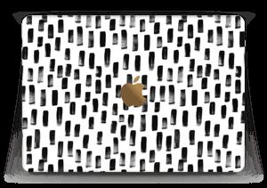 "Peinture Noire Skin MacBook 12"""