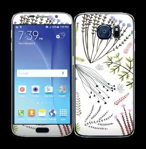 Flora Skin Galaxy S6